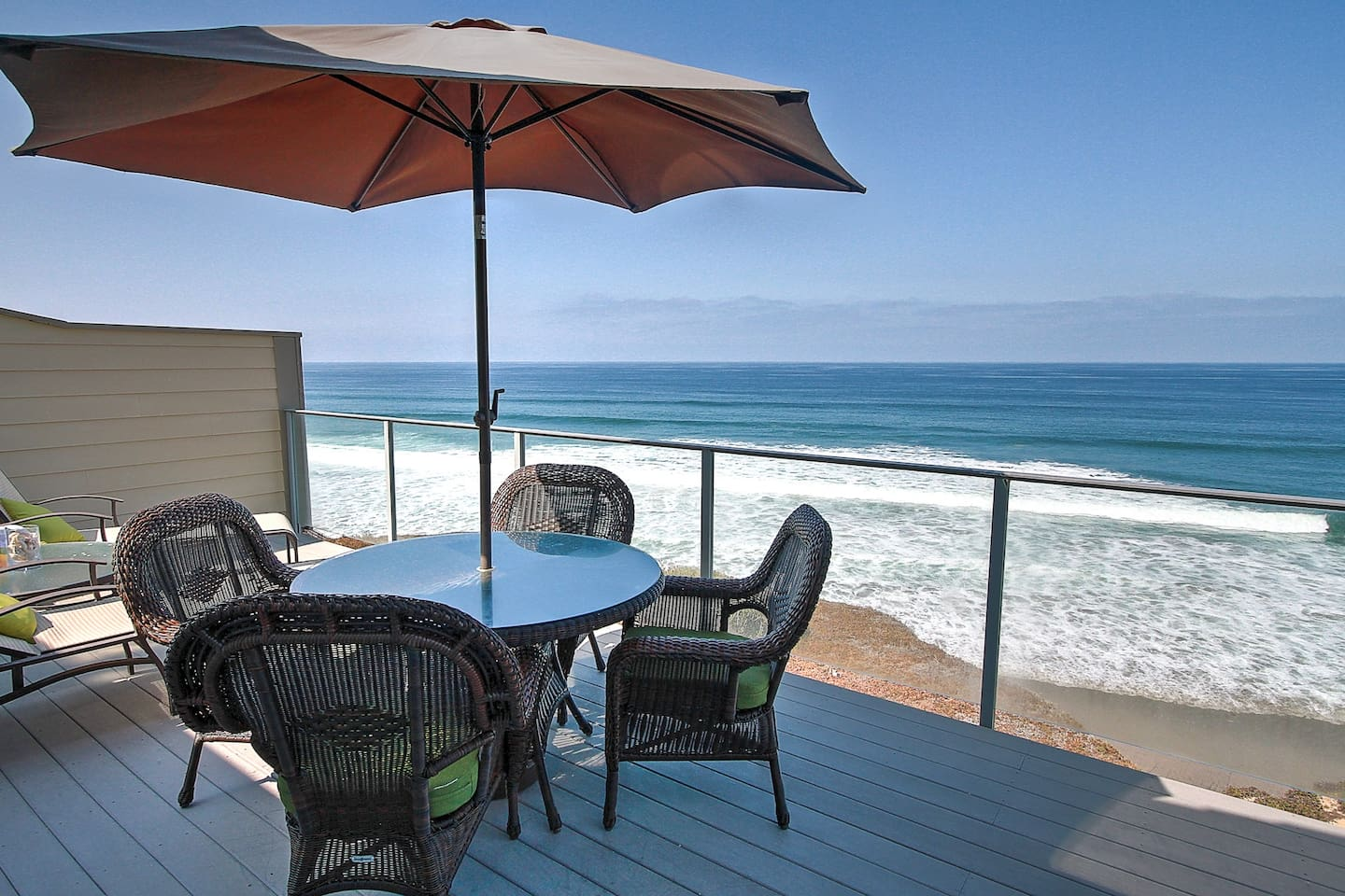 Oceanfront dining and BBQ