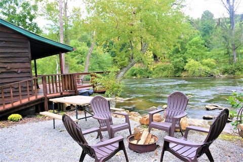 💥SPECIAL💥 Charming Riverfront/Mtn View Cabin!