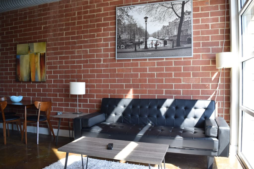 Two Story Center City Loft Apartment Lofts For Rent In Charlotte North Carolina United States