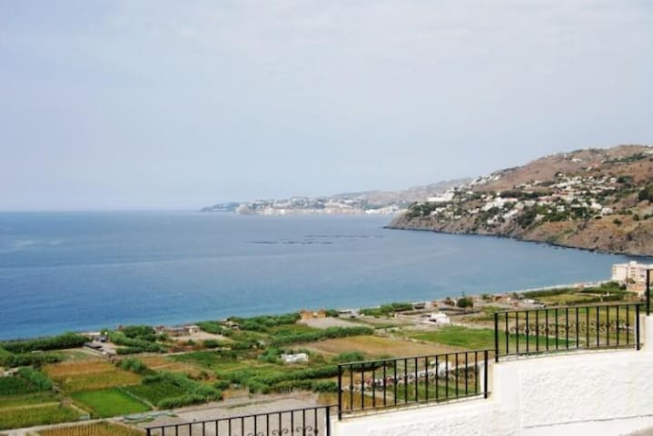 Traditional Spanish Home with Fabulous sea views!! - Salobreña - Appartement