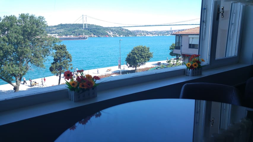 Fantastic bosphorus and bridge view(Just seaside) - İSTANBUL - Apartmen