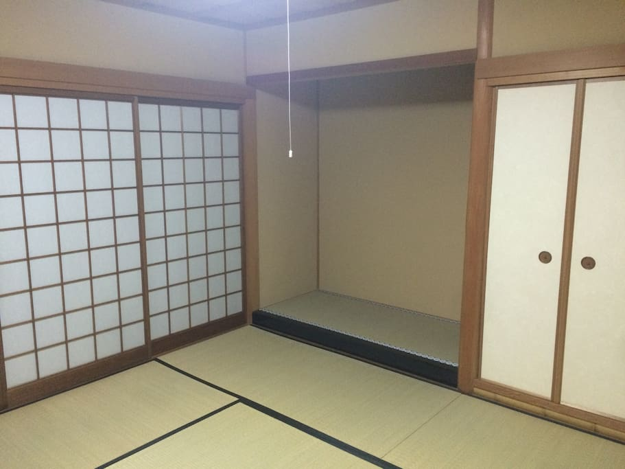 Japanese traditional room you stay