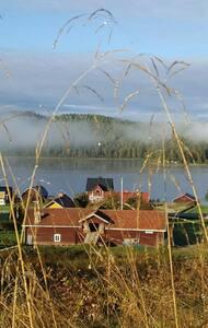 Hällesjö Huis met een Uitzicht(Gula Huset)
