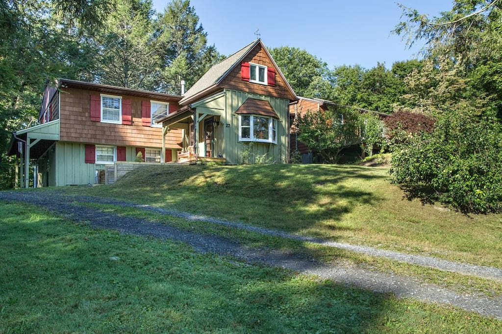 The house is set on 3 acres,