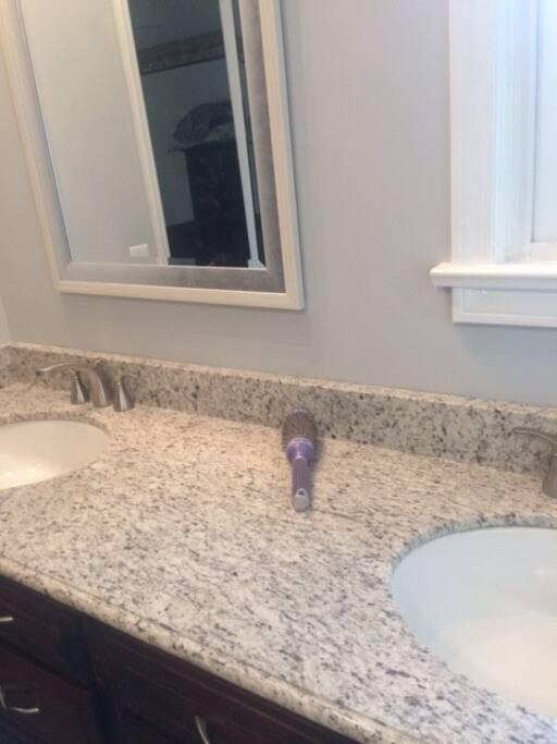 master bath vanity