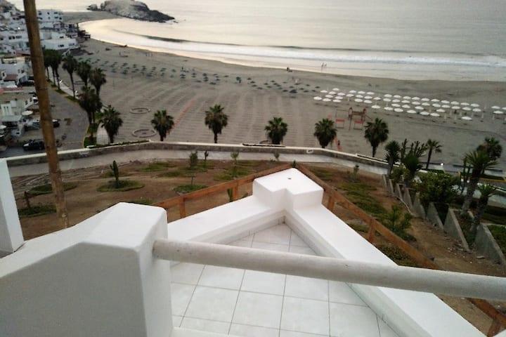 Puerto Fiel - Casa de Playa, preciosa vista al mar