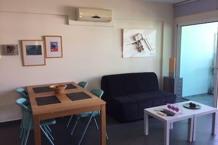 Spacious 1-bedroom Modern Flat With WIFI - Nicosia