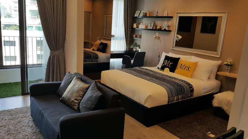 DOWNTOWN NEW!LUXURY CONDO@SiamParagon,Platinum,BTS - Bangkok - Apartment