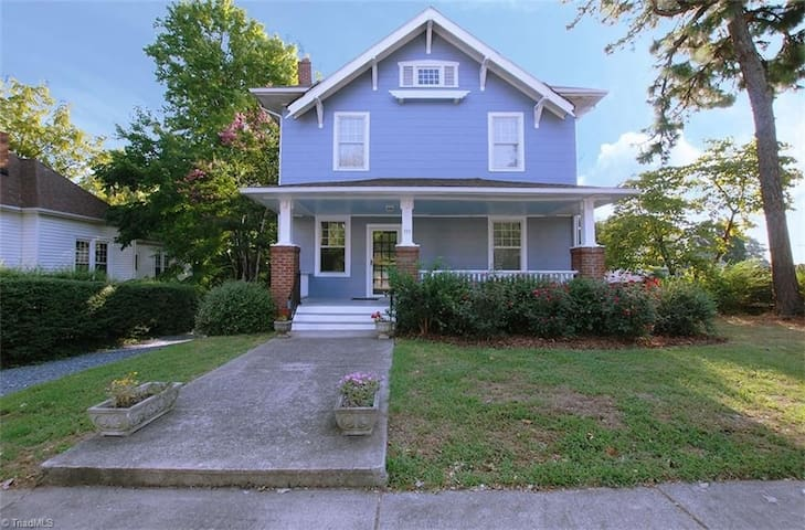Downtown Convenience with charm - Winston-Salem - Casa