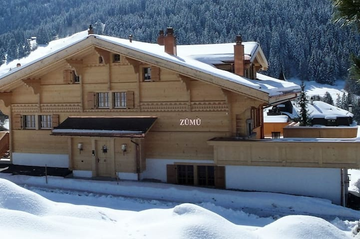 Luxury Chalet in Rougemont,5 minutes from Gstaad