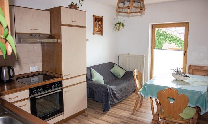 Ferienwohnung Dichtl (Grafenau), Ferienwohnung (60qm) mit 2 Schlafzimmern und Balkon mittlere Wohnung