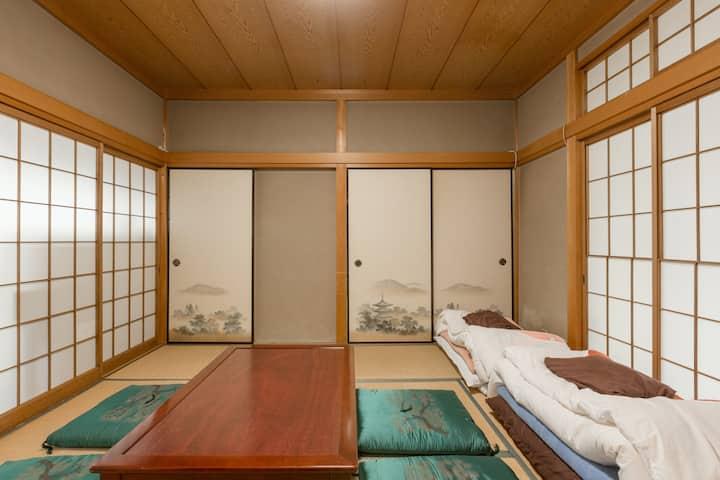 JPstyle room tatami! FushimiInari.10min by walk#2