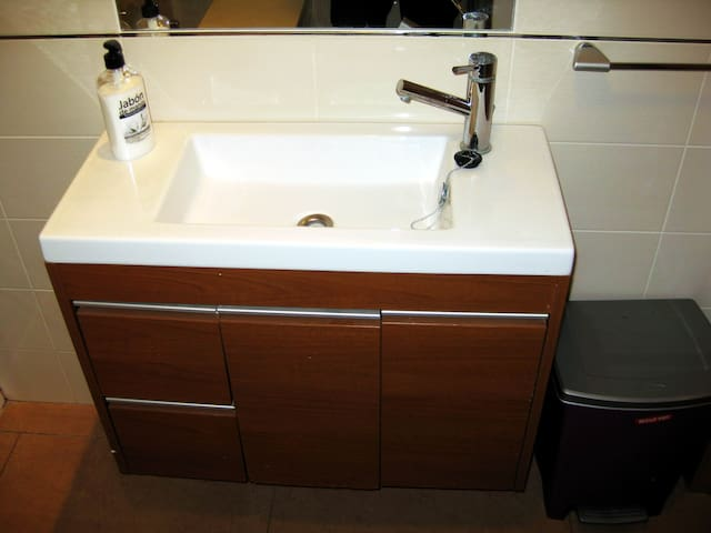 Bathroom, basin