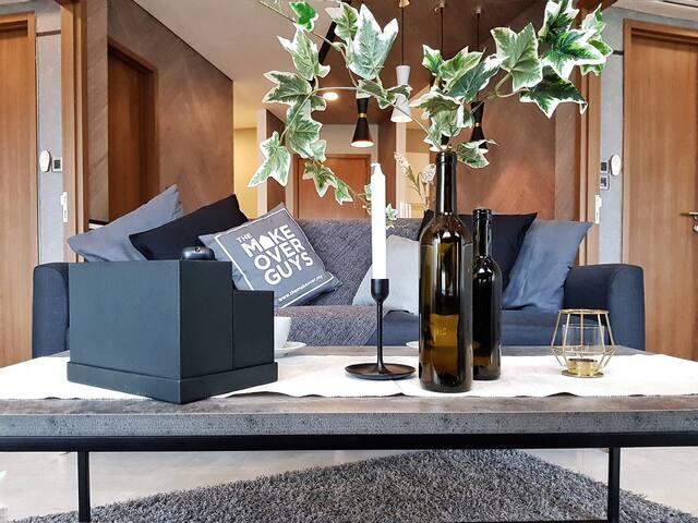 7 min to  KLCC   Luxury apartment  ROOM B