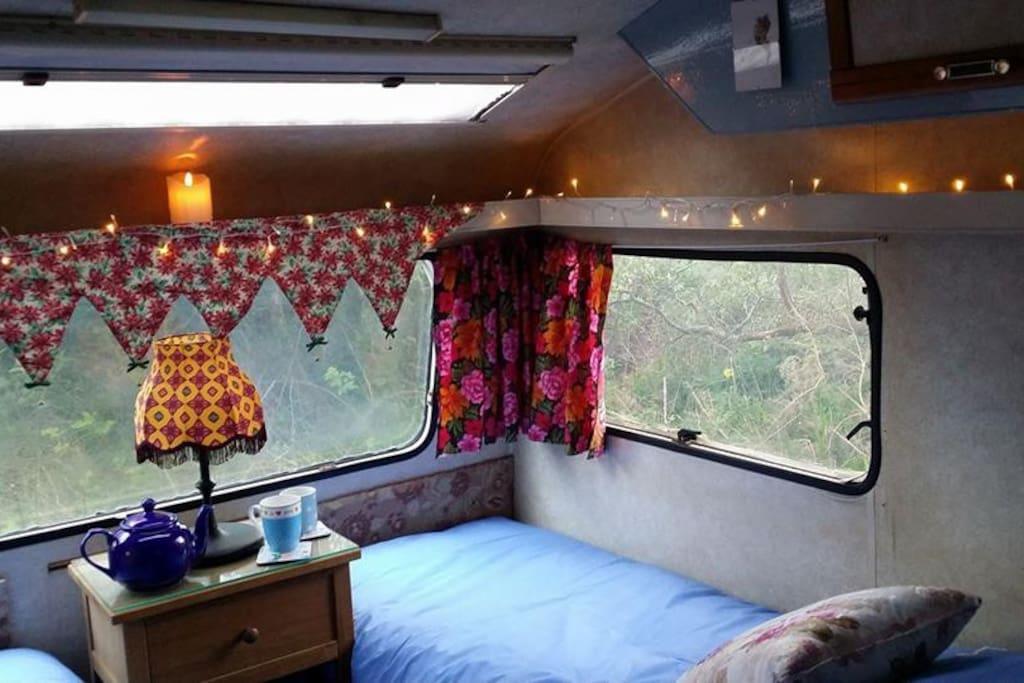 Solar lighting / off-grid caravan