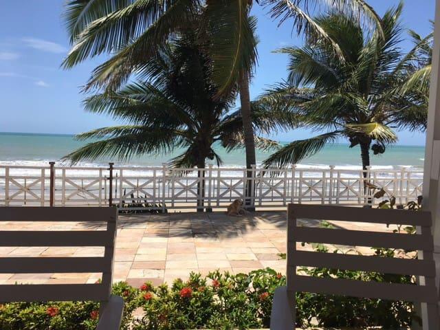 Natal,Cotovelo relaxing beachfront villa.