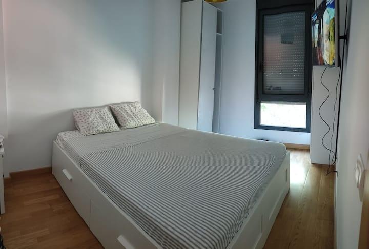 Apartamento de 1 habitación totalmente equipado