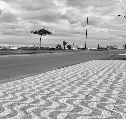 KITINET E SURF A BEIRA MAR, MATINHOS - Matinhos - Pensió