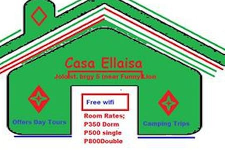 CASA ELLAISA-Homestay/ backpacker - Coron - Sala sypialna