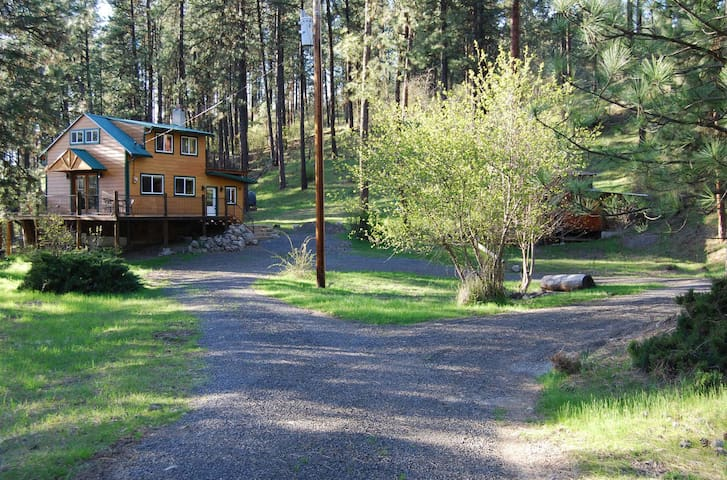 Peaceful, Private Cabin above the Clearwater River - Orofino - Cabin