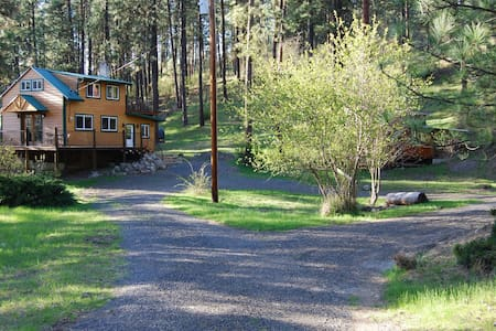 Peaceful, Private Cabin above the Clearwater River - Orofino - Kabin