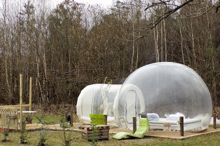 Hebergement insolite tente bulle - Vernoil-le-Fourrier - Konukevi