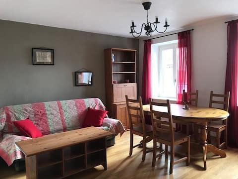 2-Zimmer-Wohnung auf dem Land