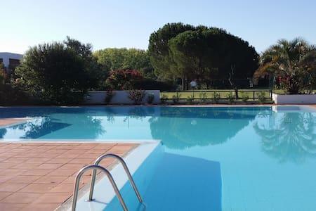 App climatisé jardin piscine 6p - Ruoms - Huoneisto