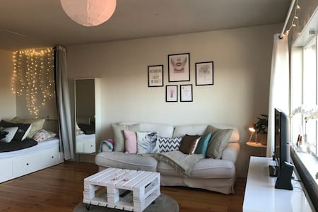 Nice studio apartment located in center of Oslo - Oslo - Lejlighed