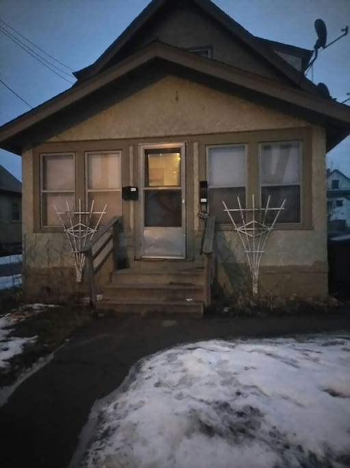 outside side front door