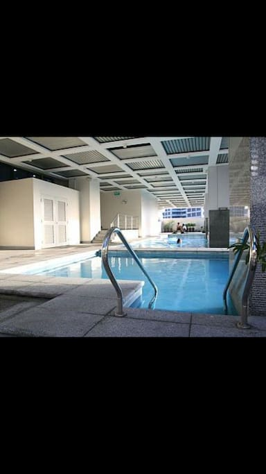 Pool @ADB tower is free for the registered guest