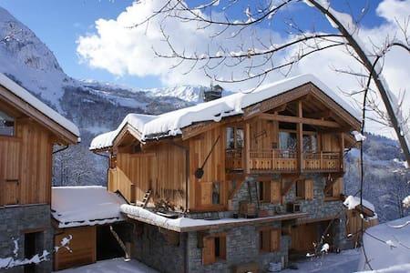 La Joubarbe Rose, ski at your foot chalet