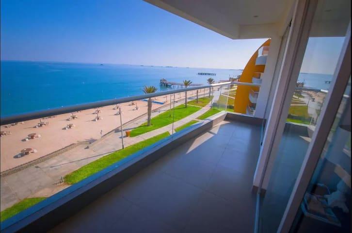 Paracas, Duplex en primera fila frente al mar!