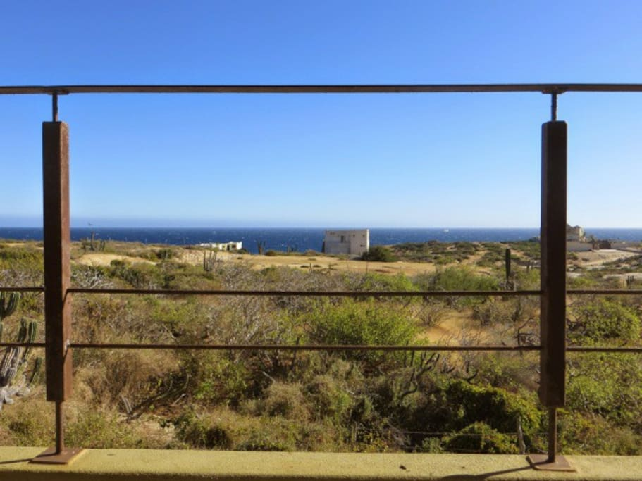180 degree view of the Sea of Cortez from the wraparound terraces