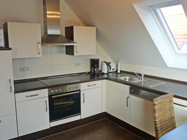 4-room apartment Nordseeduft in Norddeich - Norddeich - Flat