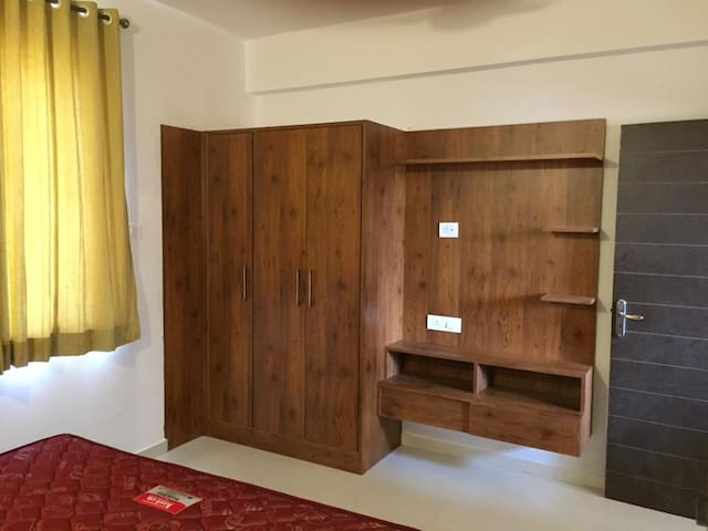 Cupboard for your clothes and belongings!