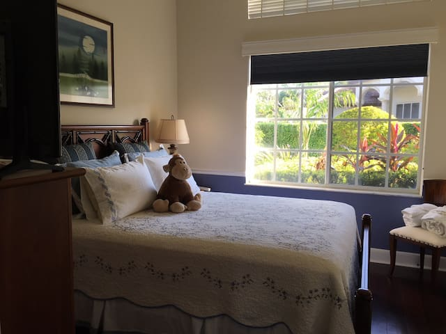 Beautiful South Miami Private Guest Room
