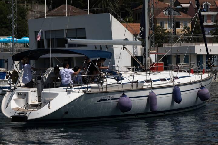 Sailing Yacht in Herceg Novi Marina
