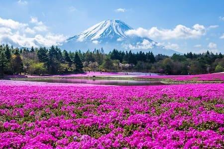 Max70在11rooms ★温泉之家!!★湖附近★ freeWi-Fi 你会看到富士山 - Fujikawaguchiko-machi