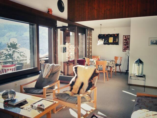 Gemütliche 2-Zimmer-Wohnung in Wengen (Jungfrau) - Lauterbrunnen - Apartment