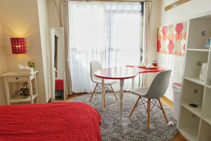 (P2) Cosy room!6min from Kyoto sta.