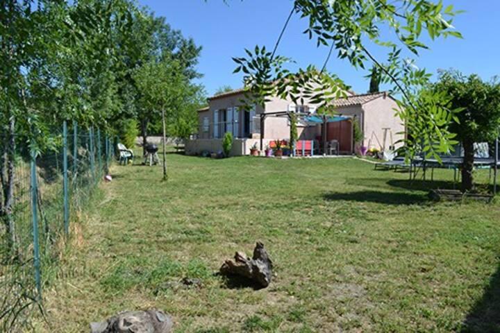 Charmante Villa Zen sortie d'Alès Cévennes