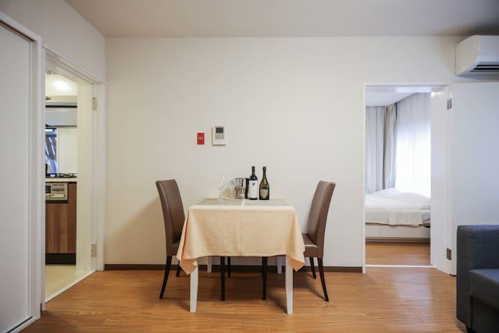 Roppongi sta. 5min w/ Free Wi-Fi - Minato-ku - Appartement