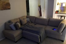 Clean cozy spot