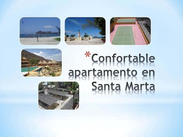 Apartamento confortable en Santa Marta