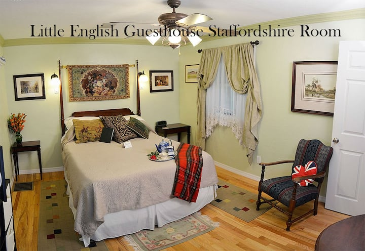Little English Guesthouse LLC - Staffordshire Room
