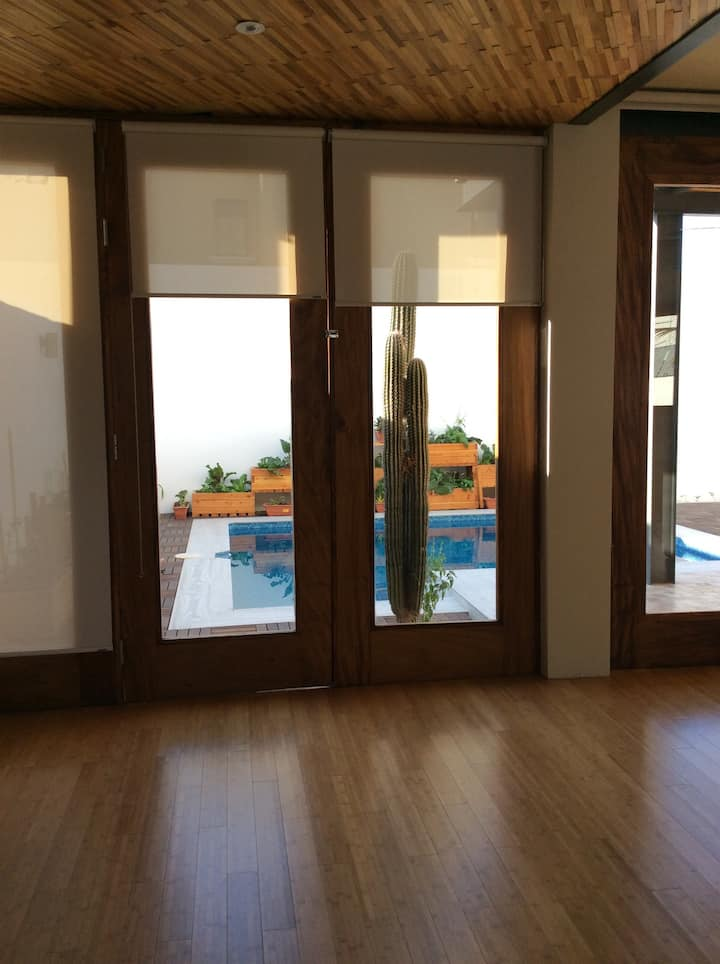 Casa loft minimalista