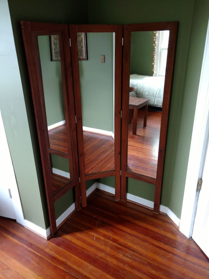 3-way changing mirror