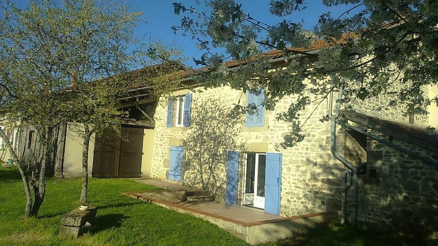 Maison de campagne de 1706 renovée - Bonnac-la-Côte - Dům