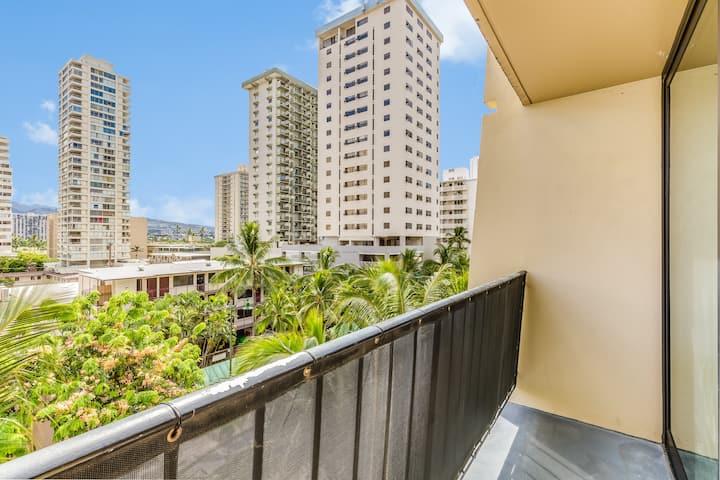 1B City View Suite w/ Kitchenette & Private Lanai